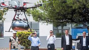 Foto de Suministro de piezas con drones, SEAT y Grupo Sesé en la Industria 4.0