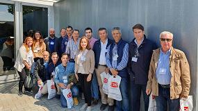 Foto de Asociados a Cecofersa visitan la central de CRC Industries en Bélgica