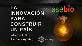 Foto de Asebio lanza un informe que alerta sobre la falta de apoyo a la I+D empresarial en España