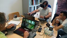 Fotografia de Fearmaga entrena a profesionales gallegos en el manejo de maquinaria forestal con realidad virtual