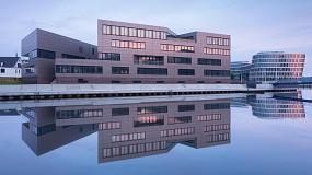 Foto de Swisspacer en el nuevo edificio de oficinas 'CentoNew' en Rostock