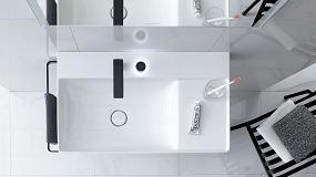 Foto de Diseño purista y superficies optimizadas para el almacenaje con DuraSquare de Duravit