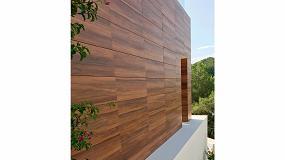 Fotografia de Grupo Greco Gres introduce en Cersaie las fachadas en Maderas Frontek