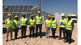 Foto de Altos funcionarios del sector eléctrico de Kenia se interesan por conocer en campo la experiencia española en energías renovables