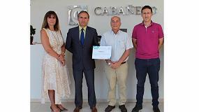 Foto de Cabañero recibe el diploma Bonus por reducir la siniestralidad