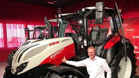 """Foto de Christian Huber, vicepresidente de STEYR: """"Soy muy positivo en el mercado ibérico gracias al acuerdo con Farming Agrícola"""""""