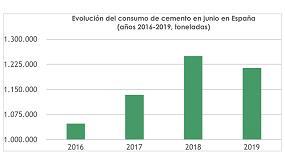 Foto de El consumo de cemento en España cae un 3% en junio