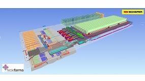 Foto de SSI Schaefer automatiza el nuevo almacén de Fedefarma