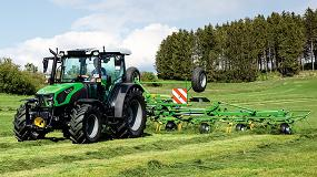 Foto de Deutz-Fahr actualiza la serie de tractores 5D