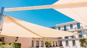 Foto de La ligereza de Kheope de KE en la terraza del Hotel Hermitage de Montecarlo