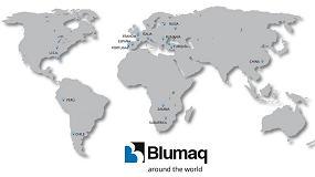 Foto de Blumaq ofrece una amplia cobertura con sus filiales a nivel mundial