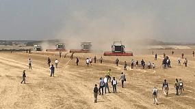 Foto de Claas introducirá en la campaña 2020 la segunda generación de cosechadoras Lexion