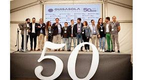 Foto de Mirka acompaña a Distribuciones Guisasola en su 50 Aniversario