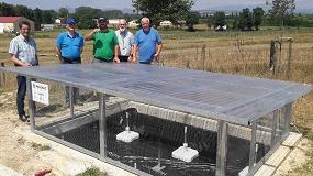 Foto de Neiker-Tecnalia instala el sistema de gestión de efluentes fitosanitarios Heliosec de Syngenta en su sede de Álava