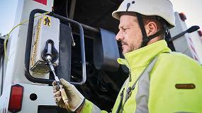 Foto de Safe-Up, el módulo que evita las caídas de los trabajadores transportados