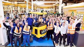 Foto de JCB entrega las primeras 50 miniexcavadoras eléctricas