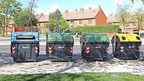 Foto de El Ayuntamiento de Getafe adquiere a Contenur 650 contenedores de residuos de carga lateral y trasera