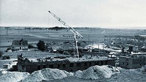Foto de La primera grúa torre móvil de Liebherr cumple 70 años