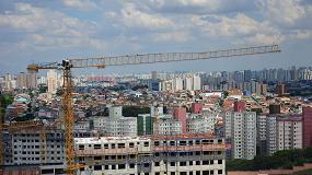 Foto de Seis grúas torre Liebherr participan en el desarrollo de un importante proyecto residencial en el corazón de São Paulo