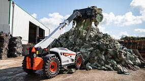 Foto de Bobcat presenta sus nuevas cargadoras telescópicas 'Waste Expert'