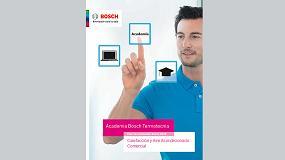 Foto de Bosch Termotecnia lanza un nuevo Plan de Formación específico para profesionales