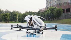 Foto de DSV Panalpina transporta vehículos aéreos autónomos para la distribución urbana