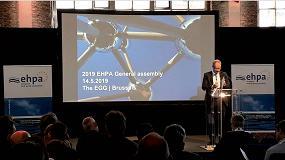 Foto de Afec en las Asambleas Generales de EHPA y Eurovent