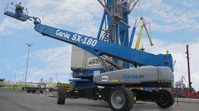 Foto de Marsa Maroc confía en una plataforma Genie SX-180 para el mantenimiento de su flota en el Puerto de Casablanca