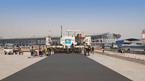 Foto de Extendedido de pavimentos con la máxima precisión en el nuevo aeropuerto internacional de Pekín