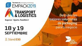 Foto de DS Smith vuelve a participar en la feria Empack & Logistics Porto 2019