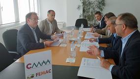 Foto de FEMAC y CMAA inician contactos para colaborar en materia de innovación