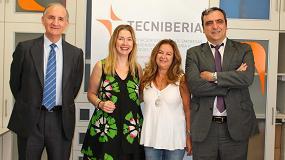Foto de Tecniberia firma con los sindicatos el nuevo convenio de ingeniería