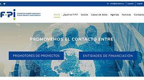Foto de El Proyecto F-PI de financiación de eficiencia energética con fondos privados estrena página web