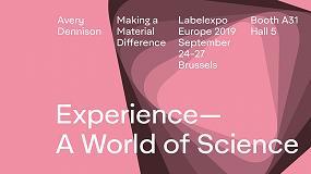 Foto de El mundo de la ciencia de Avery Dennison presenta novedades tecnológicas en la Labelexpo Europe 2019