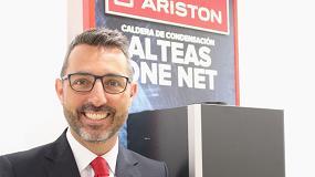 Foto de Rubén Santos, nuevo director comercial de Ariston en España