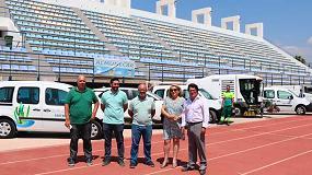 Foto de Almuñécar, Granada, recibe la primera entrega de nuevos vehículos para el servicio limpieza