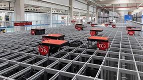 Foto de STIHL España muestra su almacén automatizado con Swisslog AutoStore
