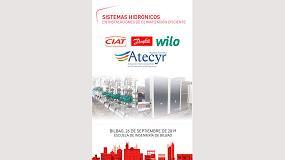 Foto de Atecyr organiza en Bilbao una jornada técnica sobre sistemas hidrónicos