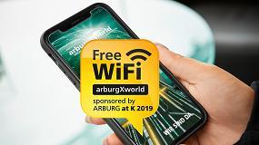Foto de Arburg ofrece conexión Wi-Fi gratuita para todos los visitantes de la K 2019