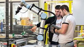 Foto de Universal Robots instala 8 cobots en los centros de formación profesional de Navarra
