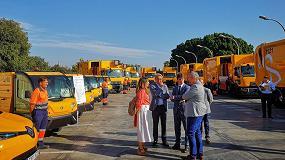 Foto de Lipasam invierte 2,4 millones de euros en la adquisición de 16 nuevos vehículos