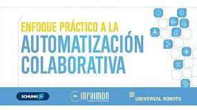 Foto de Schunk, Universal Robots e Infaimon organizan un workshop en Valladolid para mejorar la productividad de las pymes