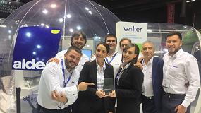 Foto de Aldes recibe el Premio Metrovacesa a la Experiencia de Usuario por Walter en Rebuild 2019