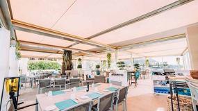 Foto de KE innova el Hotel Royal Riviera con sus pérgolas bioclimáticas