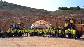 Foto de La cantera de Corbera acoge una competición con las máquinas de Case Construction