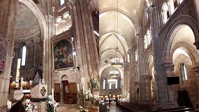 Foto de Sylvania participa en la nueva iluminación de la basílica de Covadonga en Asturias