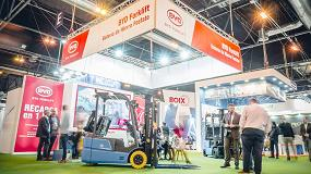 Foto de BYD Forklift se mantiene fiel a su cita anual con Fruit Attraction