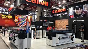 Foto de Canon muestra en C!Print Madrid cómo crear oportunidades de negocio con sus nuevas tecnologías