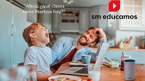 Foto de SM Educamos presenta un asistente virtual por voz para gestionar el entorno escolar