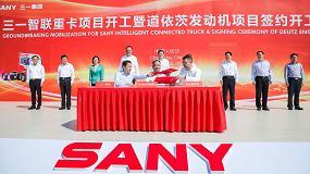 Foto de Deutz y Sany firman un acuerdo con la ciudad china de Changsha para la construcción de una nueva fábrica